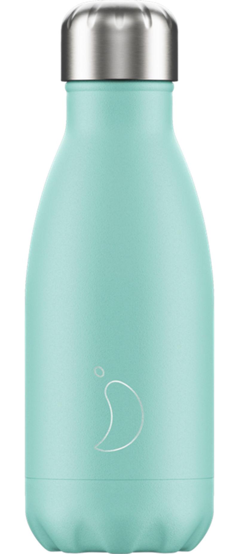 Botella Inox Menta Pastel 260ml -