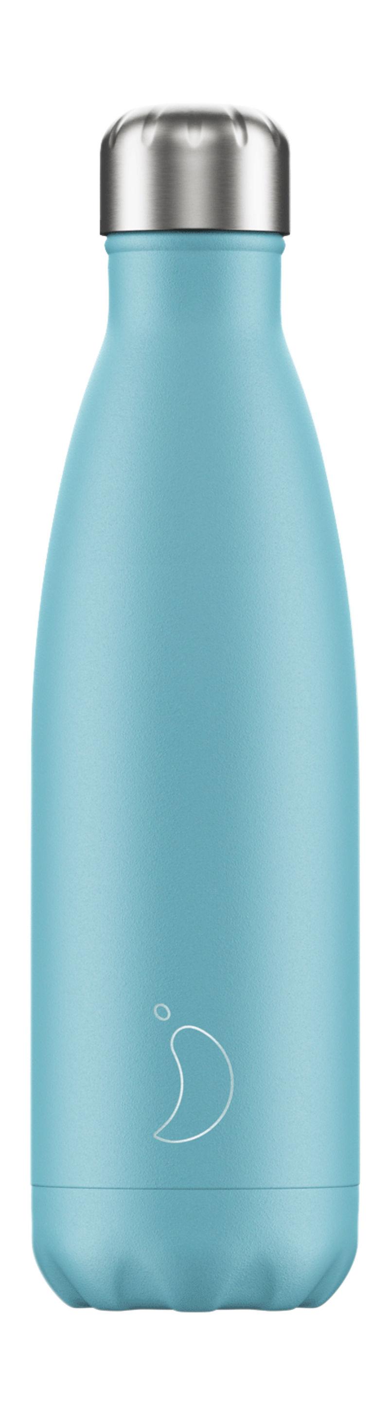 Botella Inox Azul Pastel 500ml -