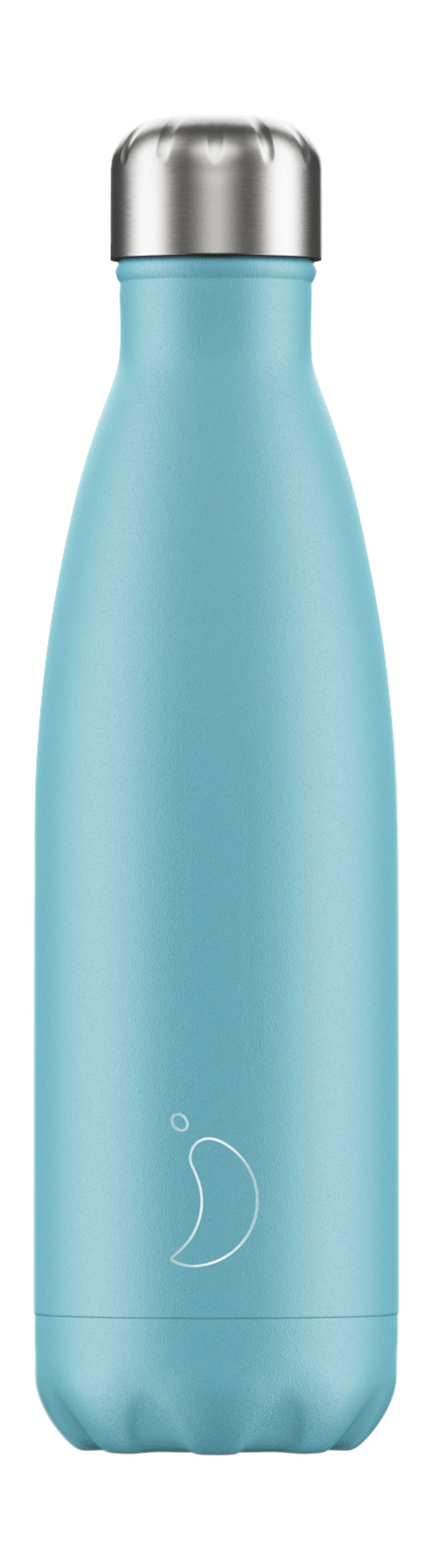 BOTELLA INOX AZUL PASTEL 500ML