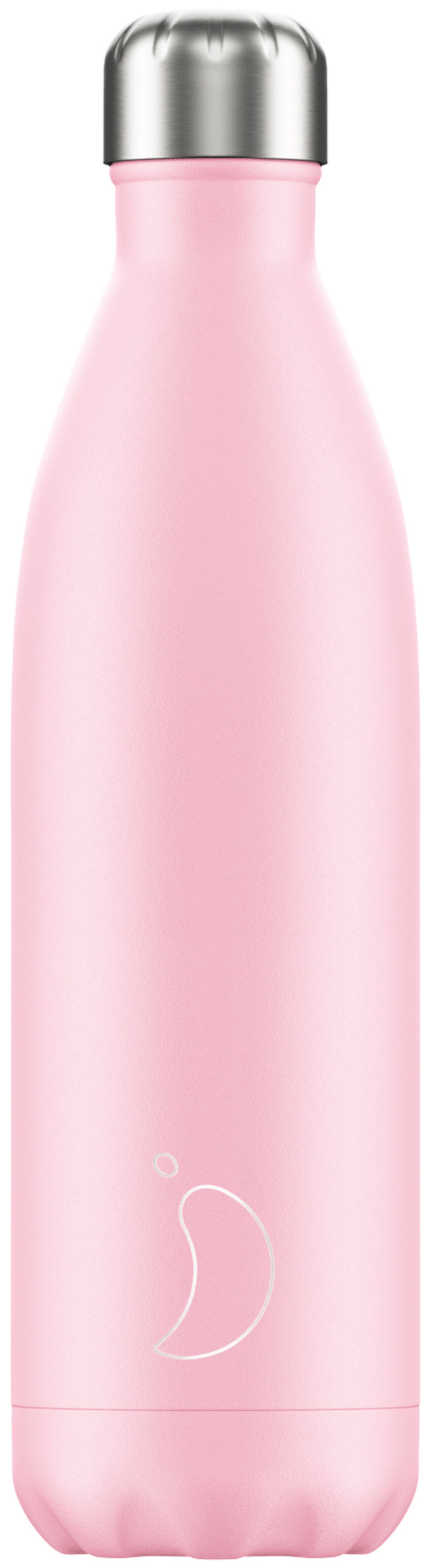 BOTELLA INOX ROSA PASTEL 750ML