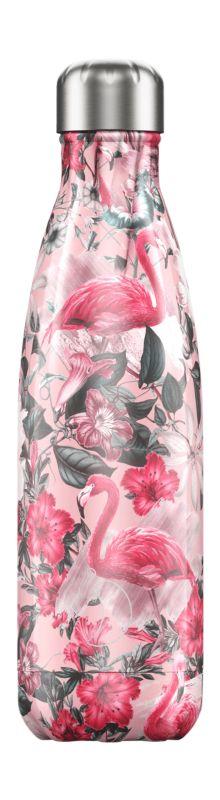 Botella Inox Tropical Flamingo 500ml -