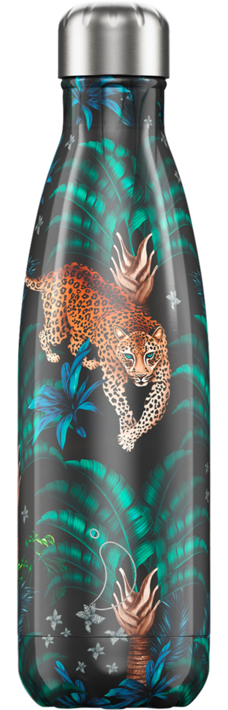 BOTELLA INOX LEOPARDO 500ML