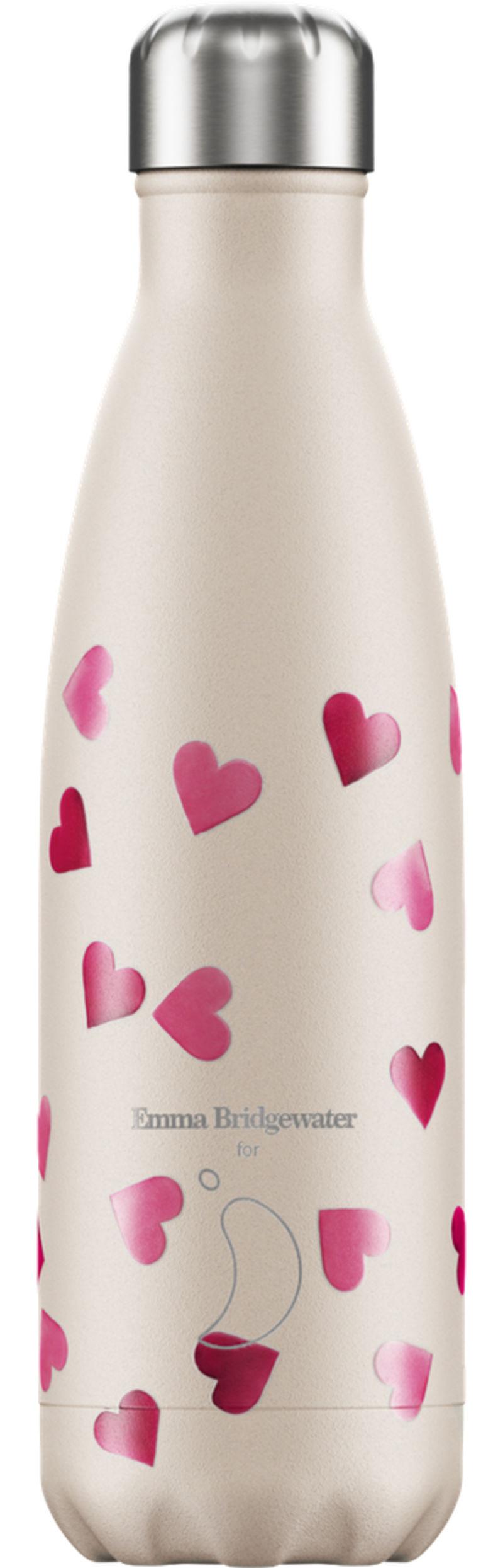 Botella Inox Corazones 260ml -