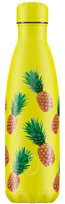 Botella Inox Frutal Piñas 500ml -