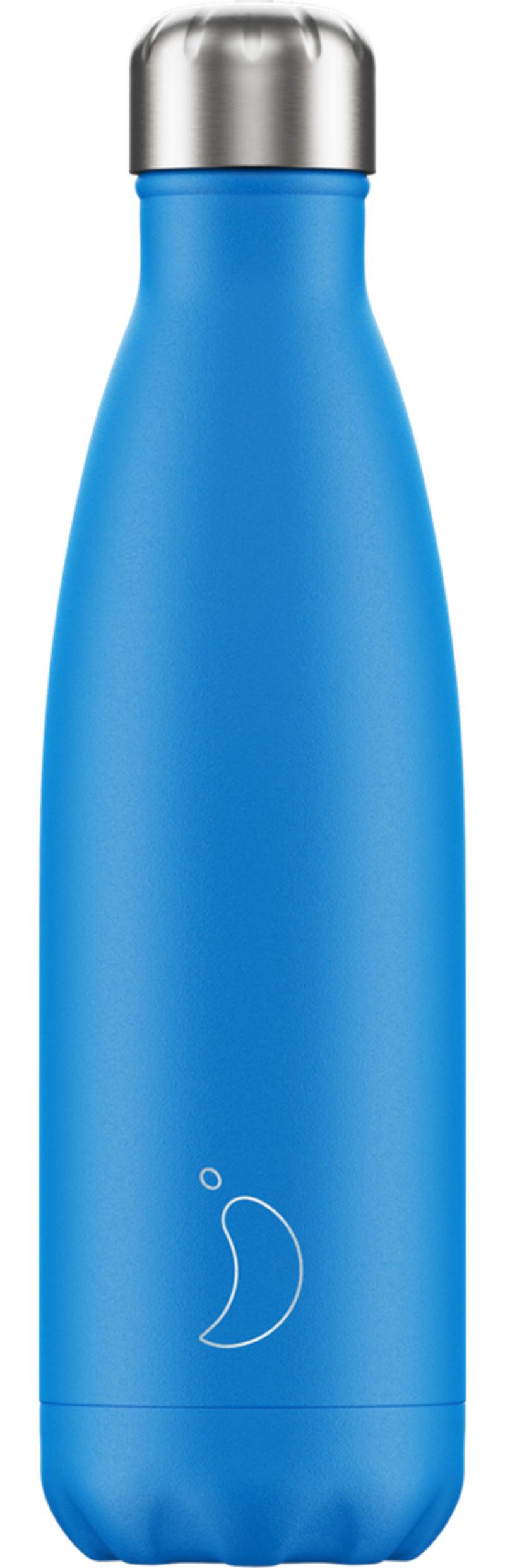 Botella Inox Azul Neon 750ml -