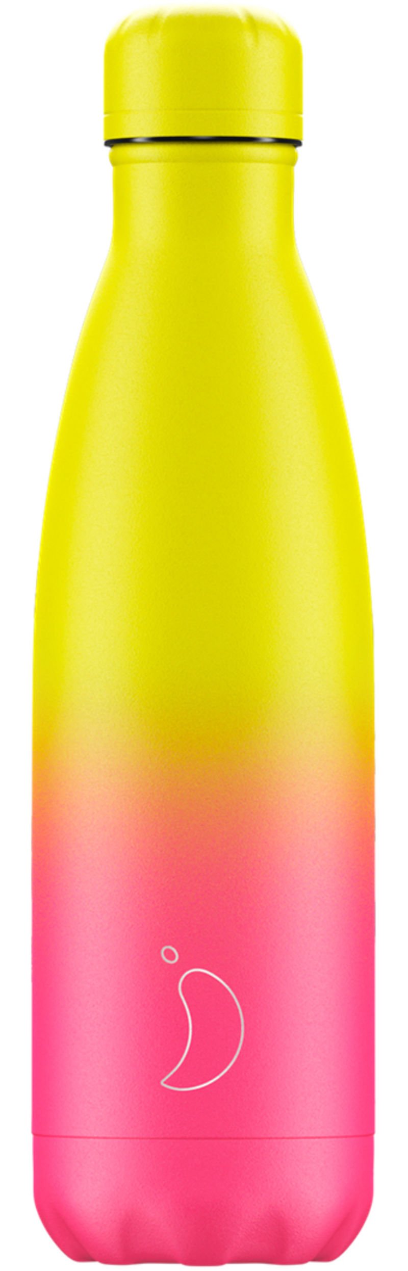 Botella Inox Gradient Neon Amarillo&rosa 500ml -