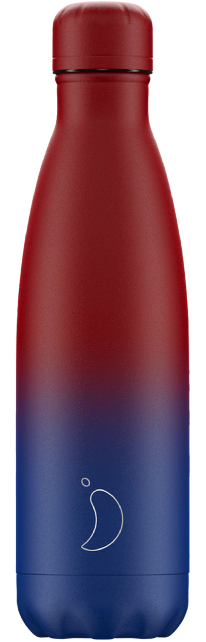BOTELLA INOX GRADIENT MATE AZUL&ROSA 500ML