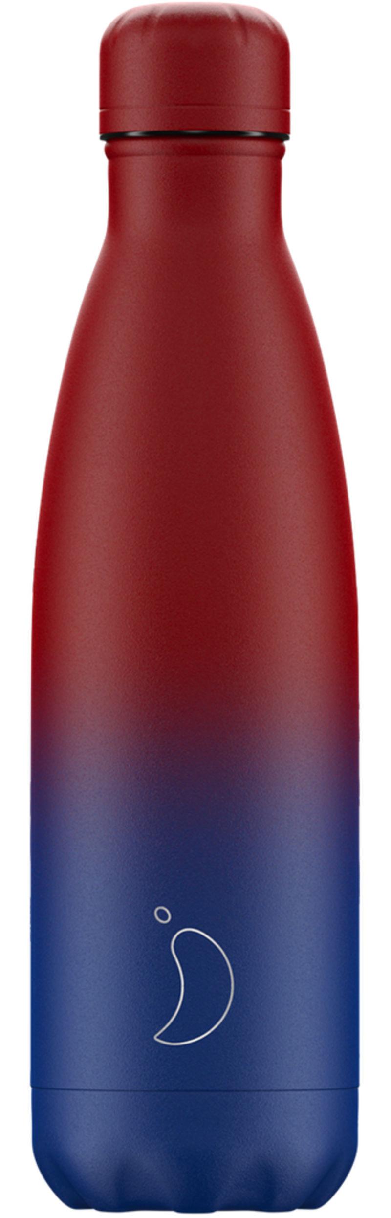 Botella Inox Gradient Mate Azul&rosa 500ml -