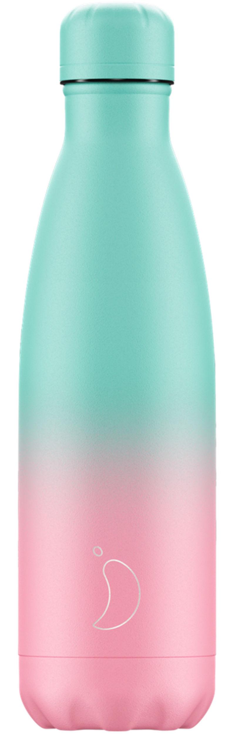 Botella Inox Gradient Pastel Menta&rosa 500ml -