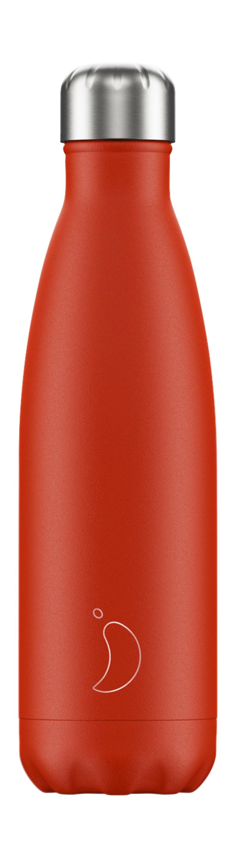 Botella Inox Rojo Neon 500ml -