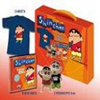 CANTA CON SHIN CHAN (CAJA CD + CAMISETA + FIGURAS PVC DE SHIN CHAN)
