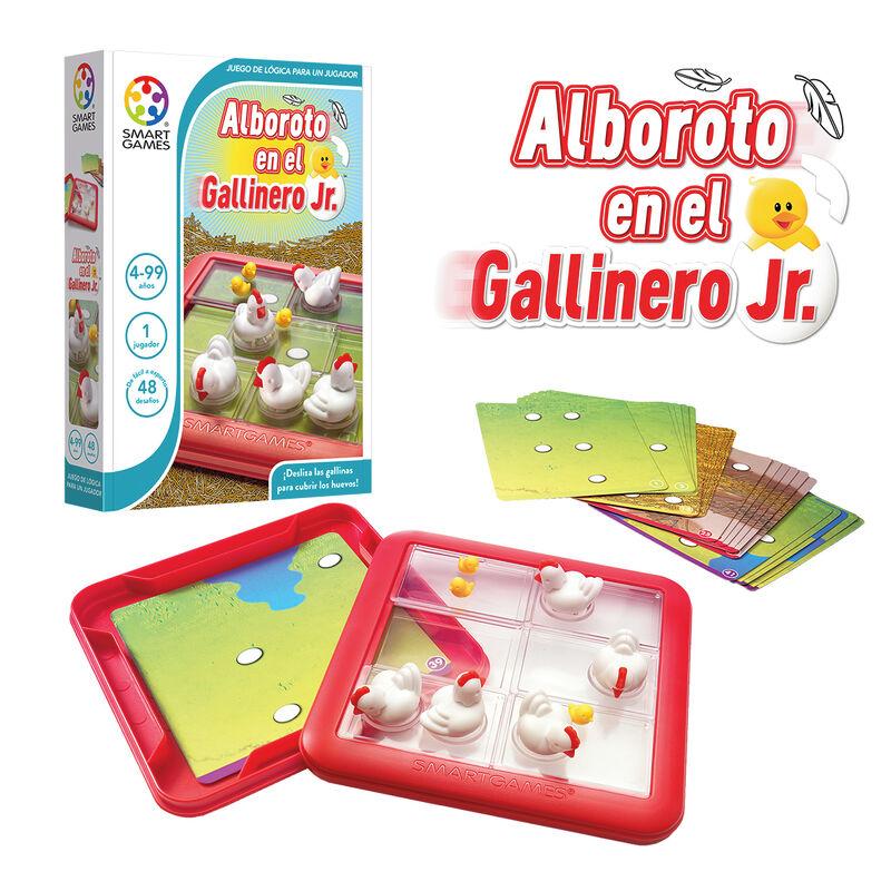 ALBOROTO EN EL GALLINERO