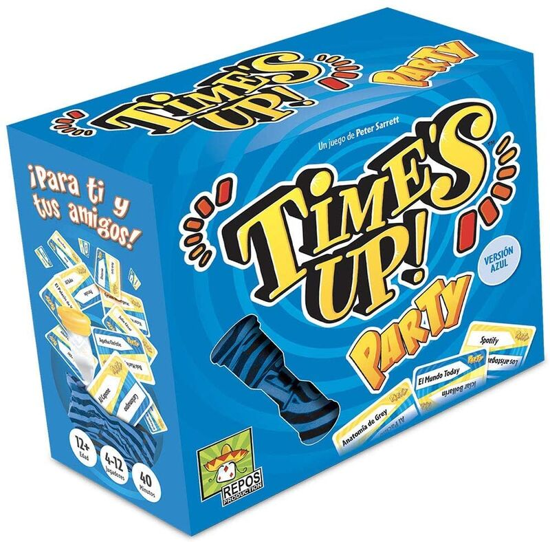TIME'S UP PARTY 2 (AZUL) R: RPTUPA02