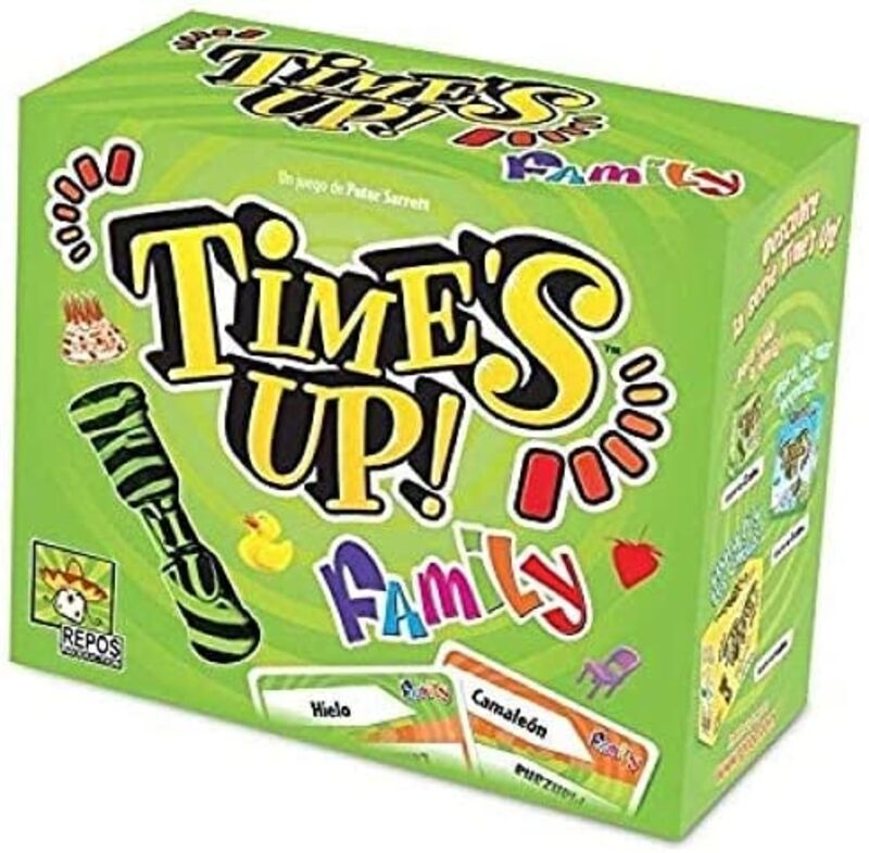 TIME'S UP FAMILY 1 (VERDE)