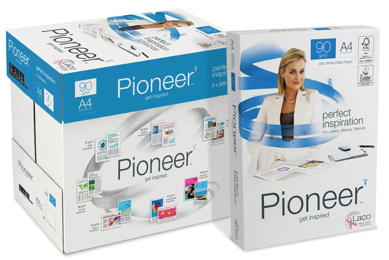 C / 5 PAQUETE 500H A4 90GR PIONEER