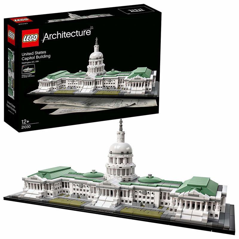 Lego Architecture * Edificio Del Capitolio R: 21030 -