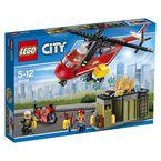LEGO CITY * UNIDAD DE LUCHA CONTRA INCENDIOS R: 60108