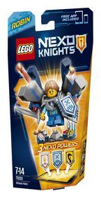 Lego Nexo Knights * Ultimate Robin R: 70333 -