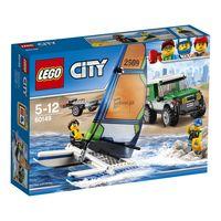 LEGO CITY * 4x4 CON CATAMARAN R: 60149