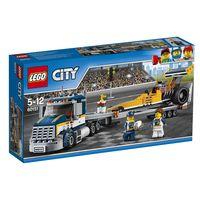 LEGO CITY * TRANSPORTE DEL DRAGSTER R: 60151