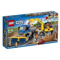 Lego City * Barredora Y Excavadora R: 60152 -