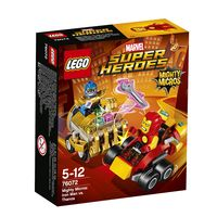 LEGO SUPER HEROES MARVEL * MIGHTY MICROS: IRON MAN VS. THANOS R: 76072
