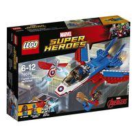 LEGO SUPER HEROES MARVEL * JET DEL CAPITAN AMERICA R: 76076