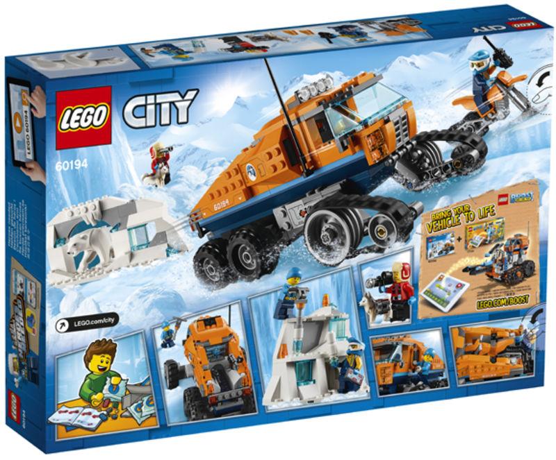 LEGO CITY * ARTICO: VEHICULO DE EXPLORACION R: 60194