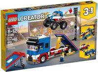 LEGO CREATOR * ESPECTACULO ACROBATICO AMBULANTE R: 31085