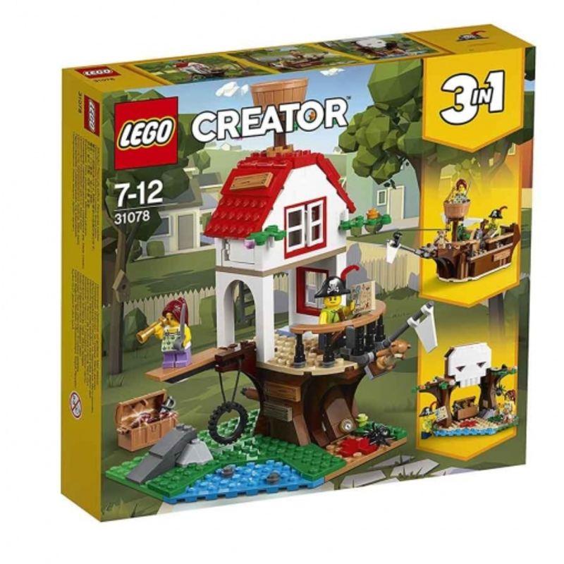 LEGO CREATOR * TESOROS DE LA CASA DEL ARBOL R: 31078