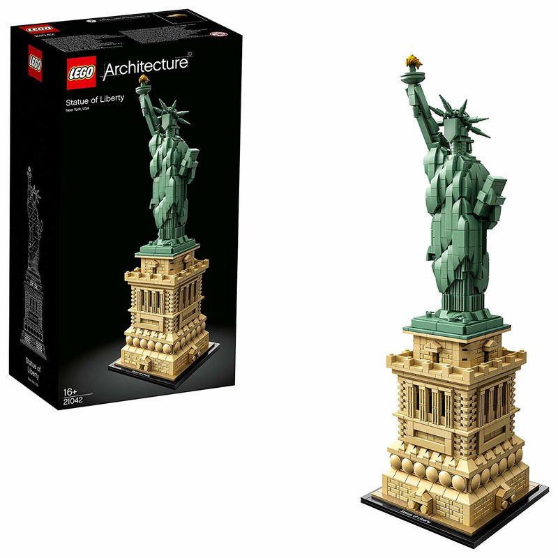 Lego Architecture * Estatua De La Libertad R: 21042 -