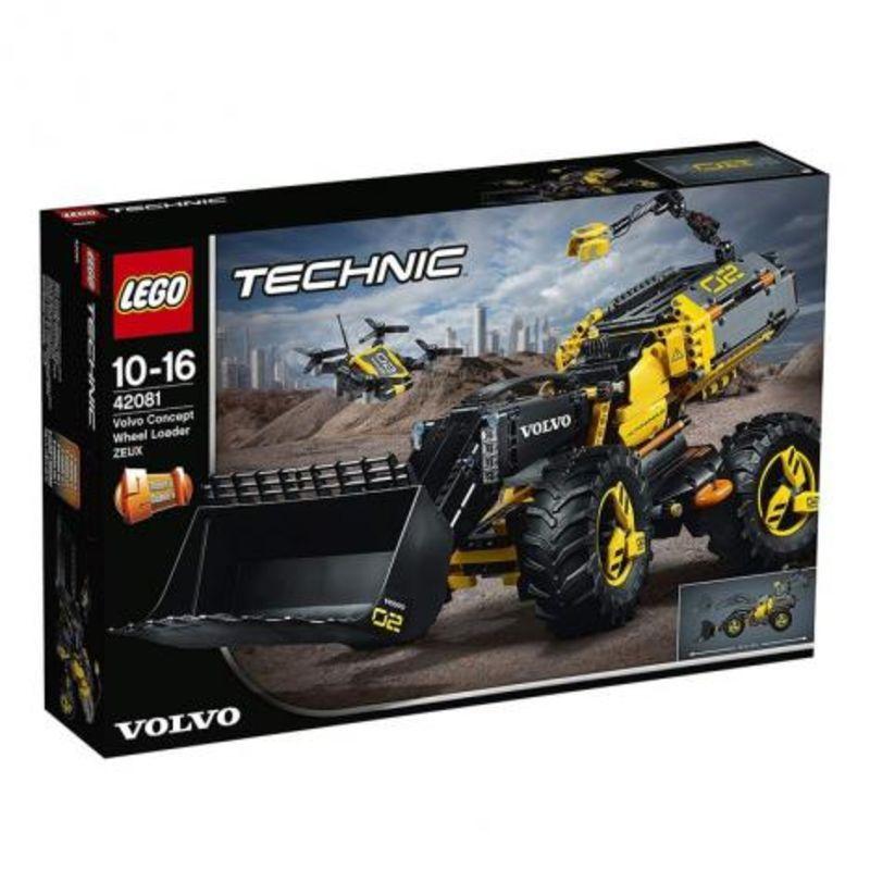 Lego Technic * Prototipo Volvo De Cargadora Con Ruedas Zeux R: 42081 -