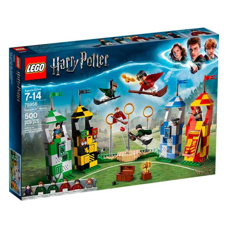 LEGO HARRY POTTER * PARTIDO DE QUIDDITCH R: 75956