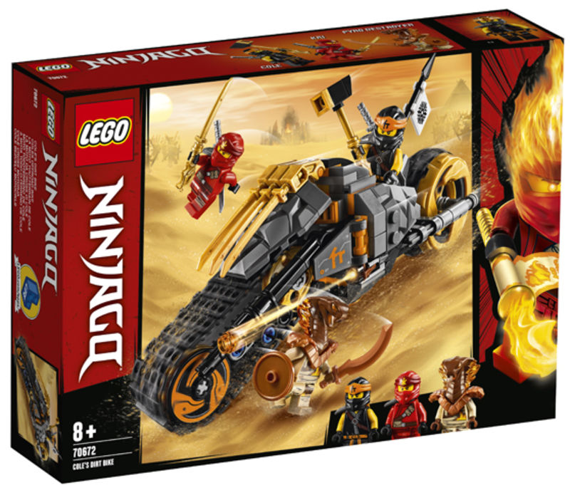 LEGO NINJAGO * MOTO TODOTERRENO DE COLE
