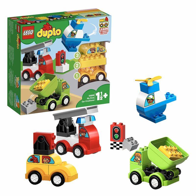 LEGO DUPLO * MIS PRIMEROS COCHES R: 10886