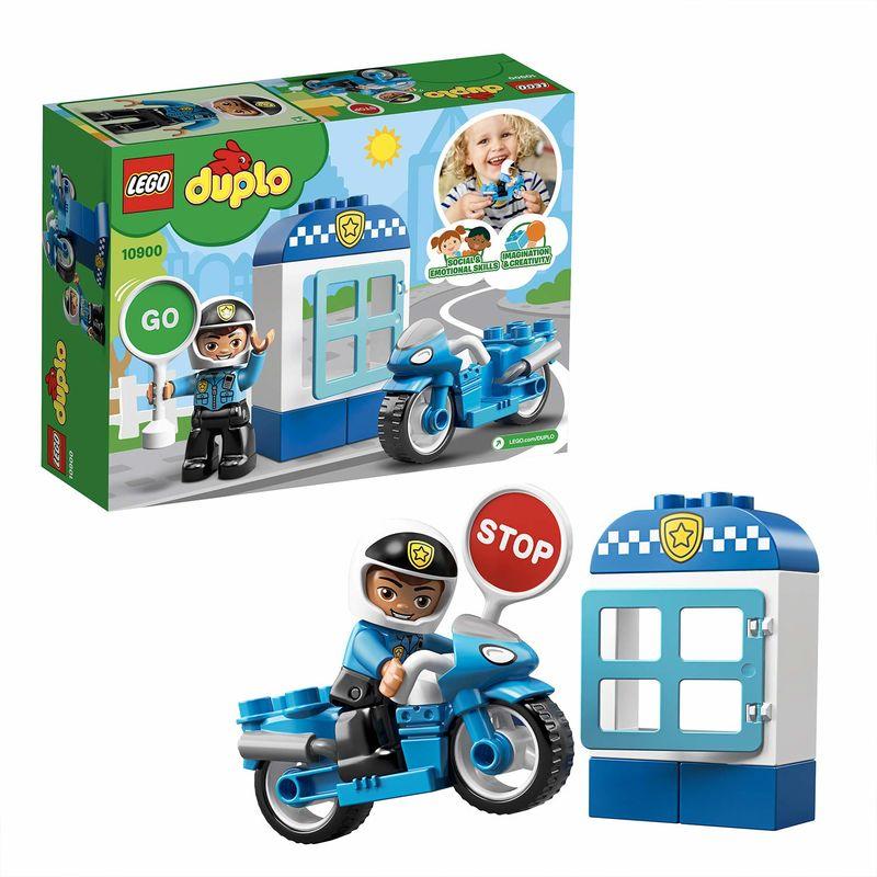 LEGO DUPLO * MOTO DE POLICIA R: 10900