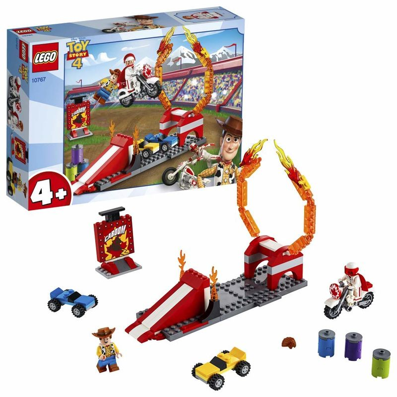 LEGO JUNIORS * ESPECTACULO ACROBATICO DE DUKE CABOOM