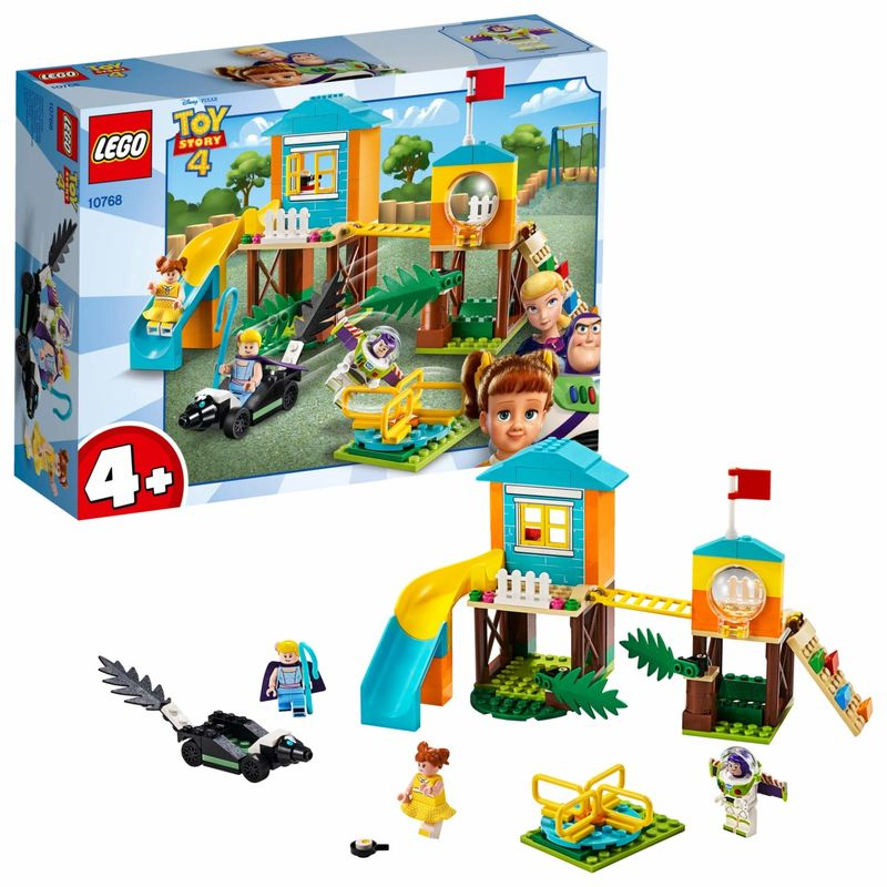 LEGO JUNIORS * AVENTURA EN EL PARQUE DE JUEGOS DE BUZZ Y BO PEEP