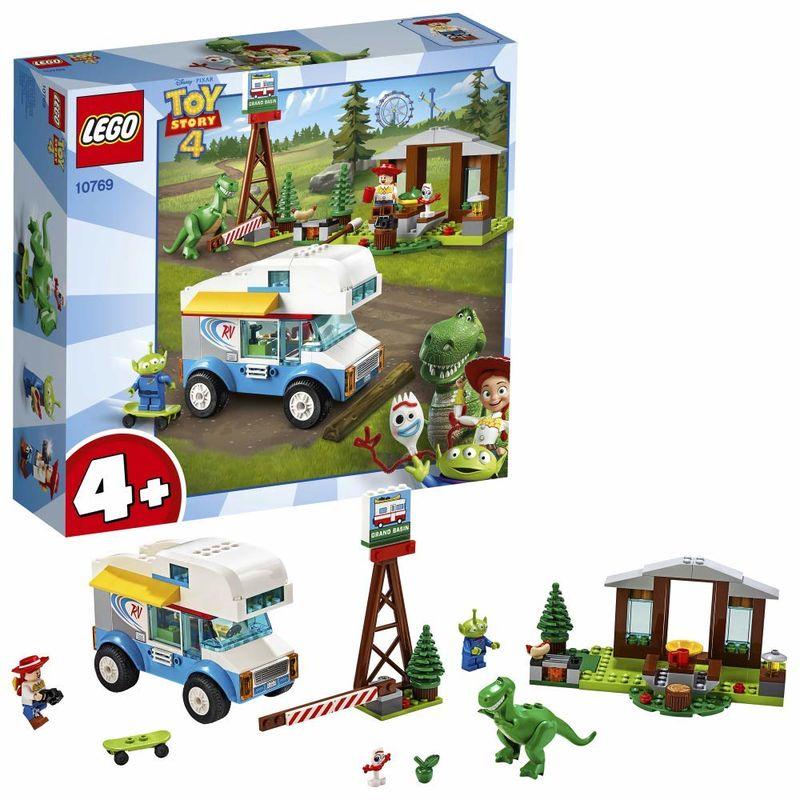 LEGO JUNIORS * TOY STORY 4 VACACIONES EN AUTOCARAVANA