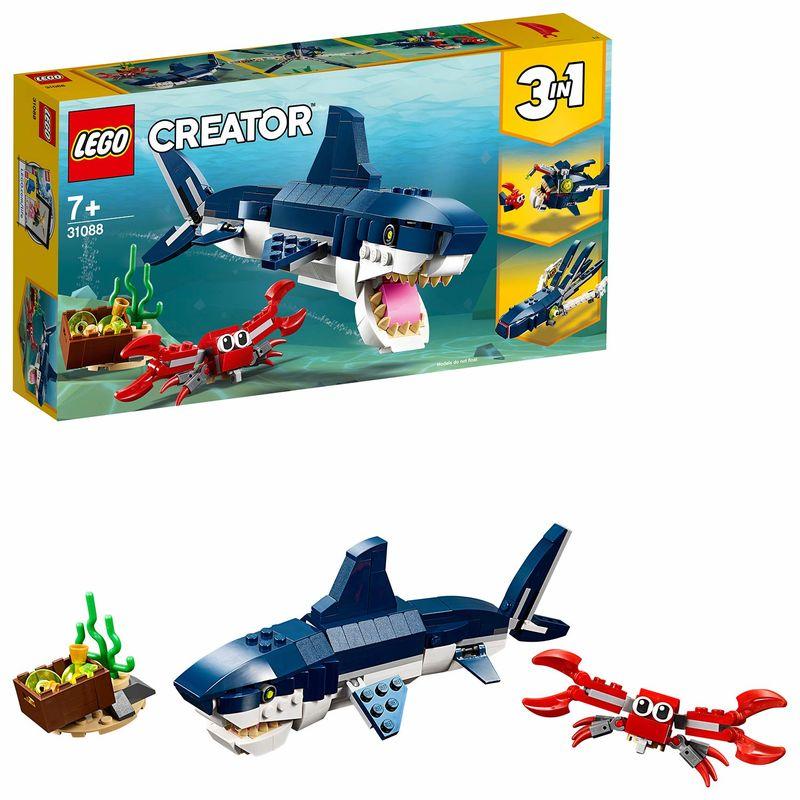 LEGO CREATOR * CRIATURAS DEL FONDO MARINO R: 31088