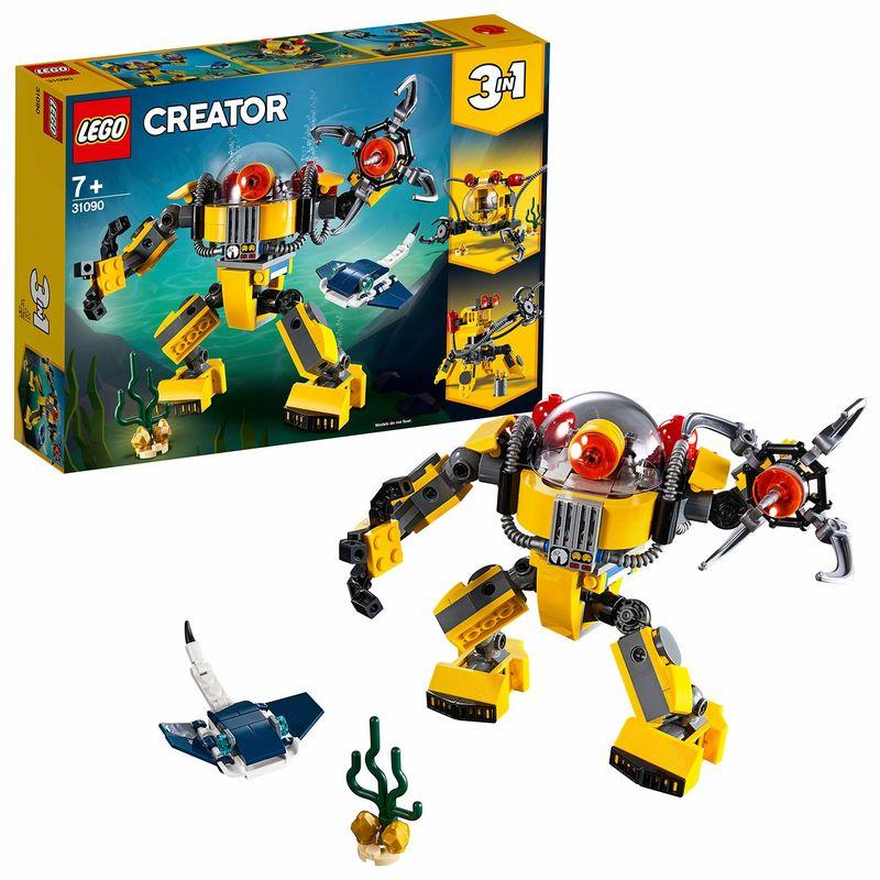 LEGO CREATOR * ROBOT SUBMARINO R: 31090
