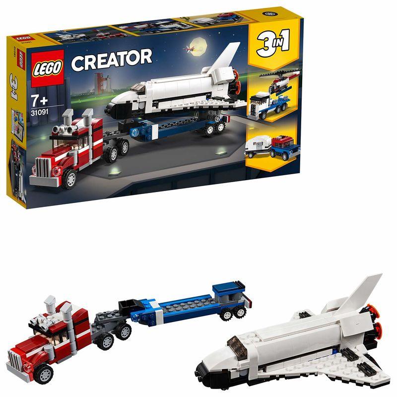 LEGO CREATOR * TRANSPORTE DE LA LANZADERA R: 31091