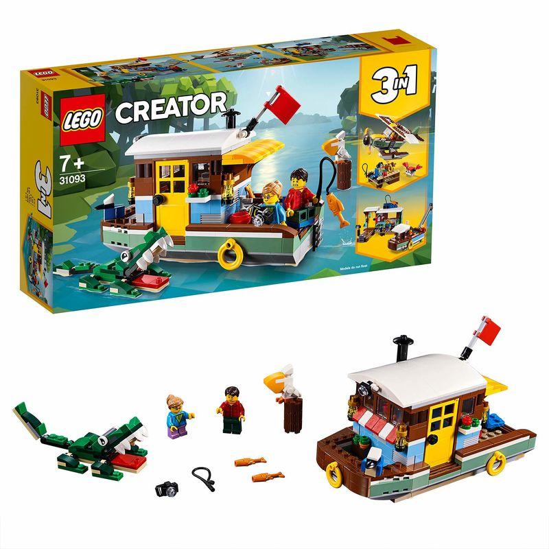 LEGO CREATOR * CASA FLOTANTE DEL RIO R: 31093