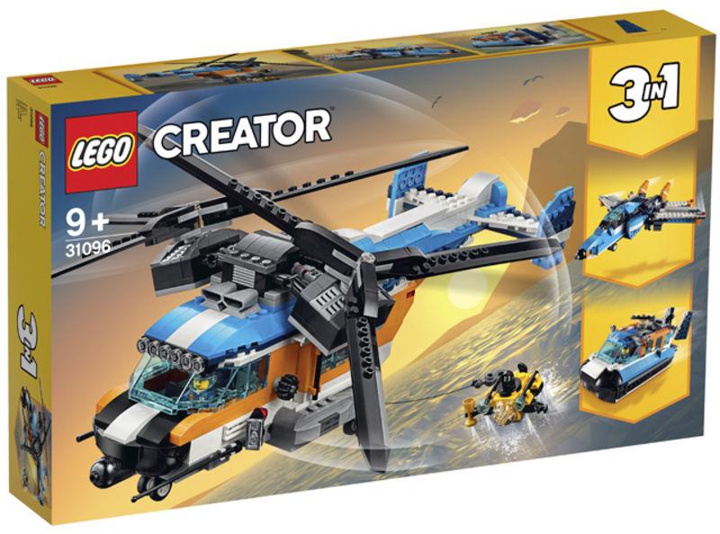 LEGO CREATOR * HELICOPTERO DOBLE HELICE