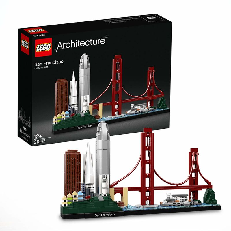 LEGO ARCHITECTURE * SAN FRANCISCO R: 21043