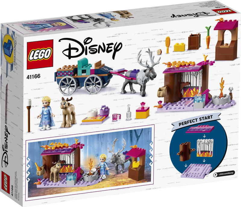 LEGO DISNEY PRINCESS * AVENTURA EN CARRETA DE ELSA