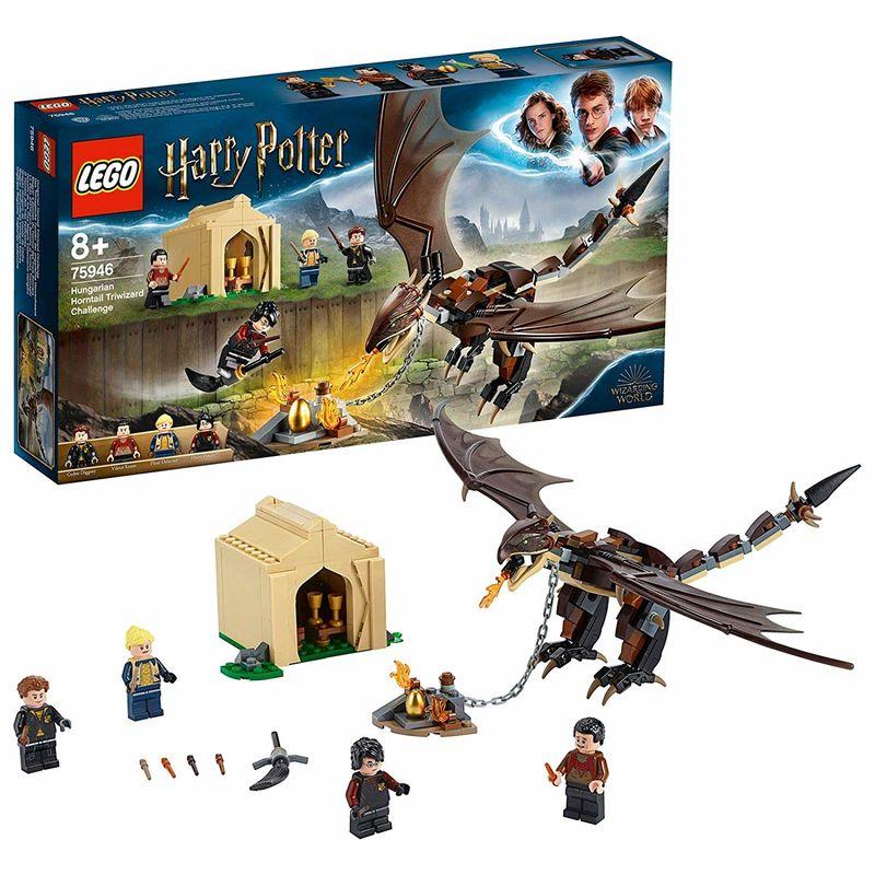 Lego Harry Potter * Desafio De Los Tres Magos Colacuerno Hungaro -