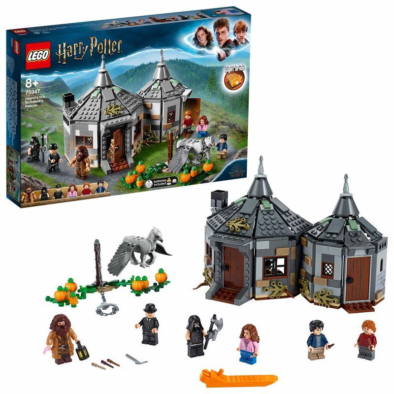 LEGO HARRY POTTER * CABAÑA DE HAGRID : RESCATE DE. ..
