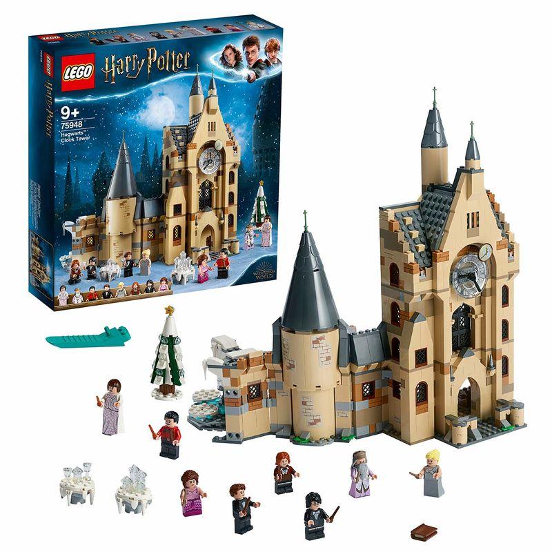 LEGO HARRY POTTER * TORRE DE RELOJ HOGWARTS