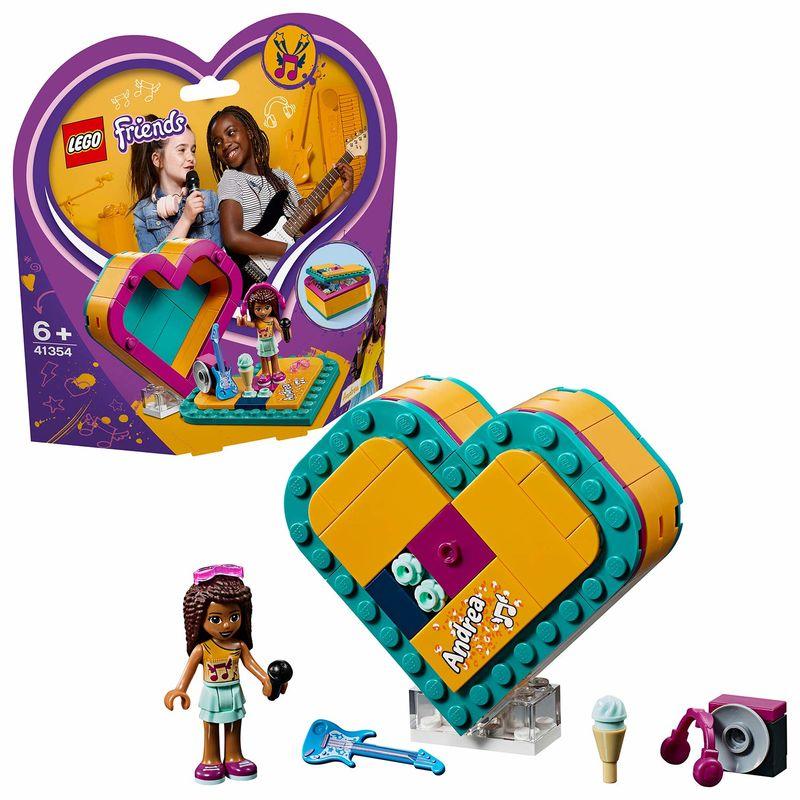 LEGO FRIENDS * CAJA DE CORAZON DE ANDREA R: 41354
